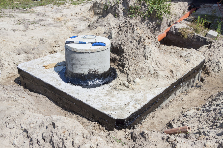 securing the septic tanks