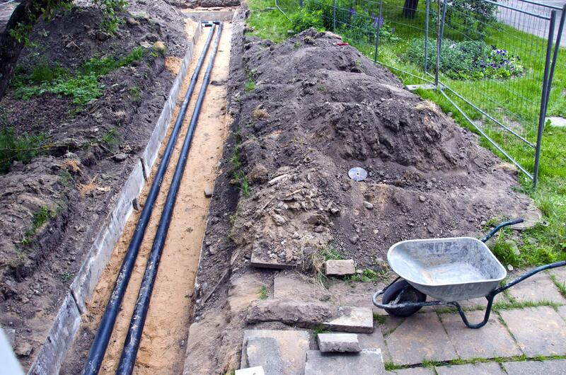 locating and digging the septic tank