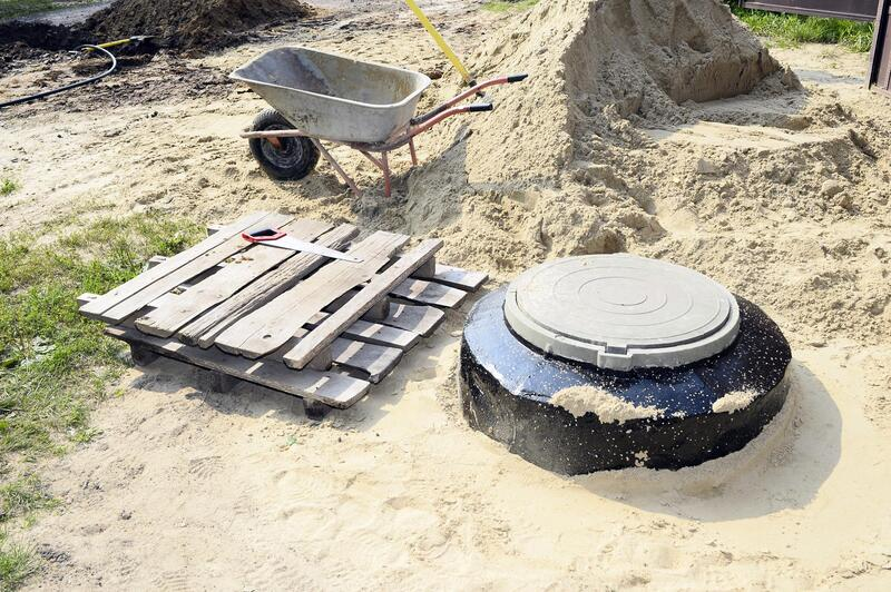 securing the cover of septic tanks